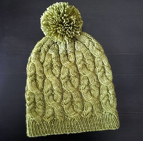 Ravelry: Sultana Cabled Hat pattern by Veronica Parsons