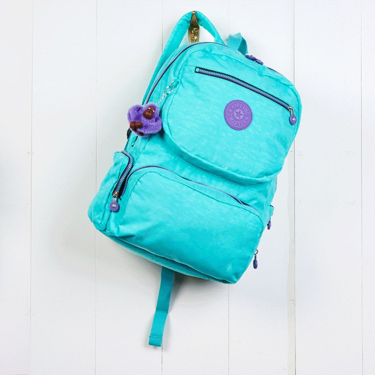 Colorful backpacks to lighten and brighten your day #KiplingMakeHappy