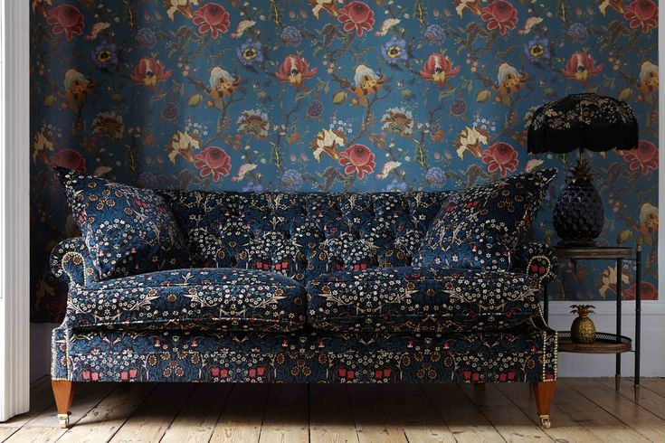 House of Hackney, the luxury British lifestyle brand loved for its iconic  prints will this Autumn introduce the first instalment of a ground-breaking  collaboration with the inimitable William Morris.  The largest and most inspired House of Hackney collaboration to date, the  launch of HOUSE O