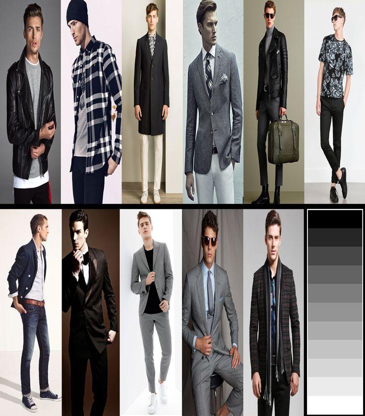 Hangi renkler, hangi renk kıyafetlerle giyinilir, gri ve siyah renkler, gri ve siyah tonlar ile uyumlu renkler nelerdir, moda, trend, tarz ve stil kıyafetler, basgann lookbook