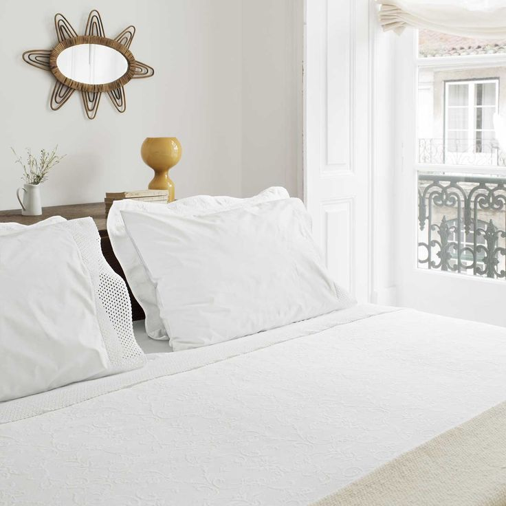 Pearl adds a touch of sophistication to any bedroom.