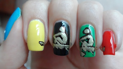 Olympic Rowing Nails