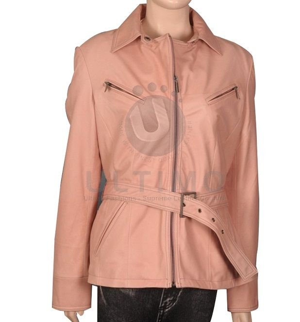 Women's shirt collar jacket