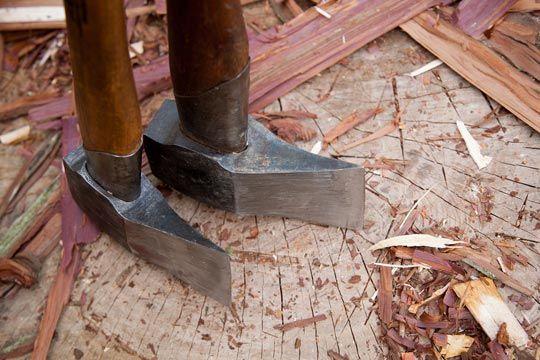 小型薪割りと薪棚構想 | 写風人の薪焚き日和