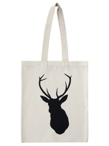 Stag tote bag <3