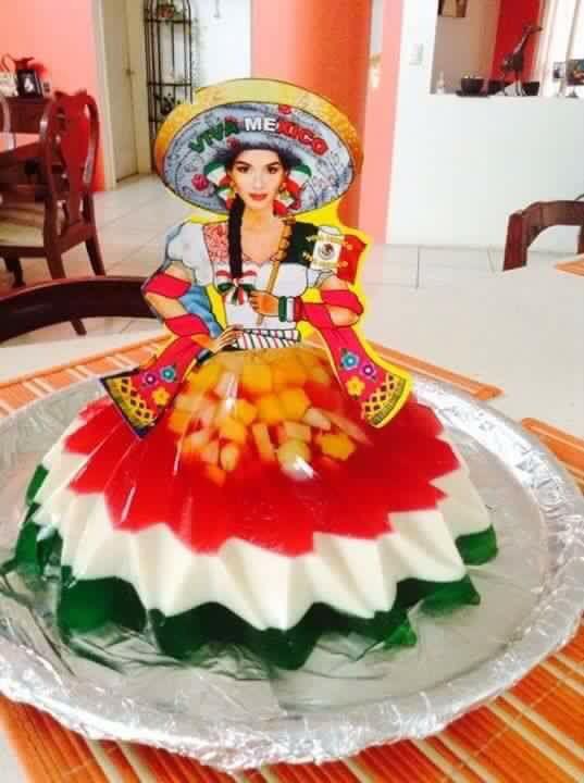 Deliciosa gelatina Mexicana!