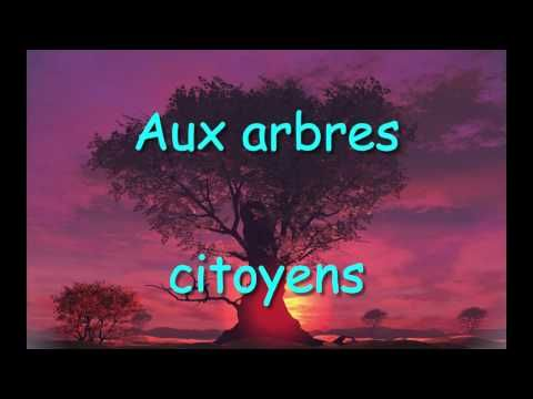 Chanson pour Jour de la Terre - Aux arbres citoyens -