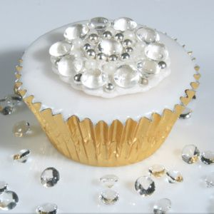 diamonds decor images | ... Decorations Edible Diamonds and Pearls Diamonds and Gems - The Cake