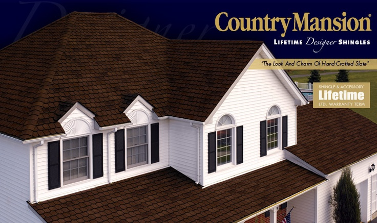 12 Best Images About Gaf Country Mansion Shingles On