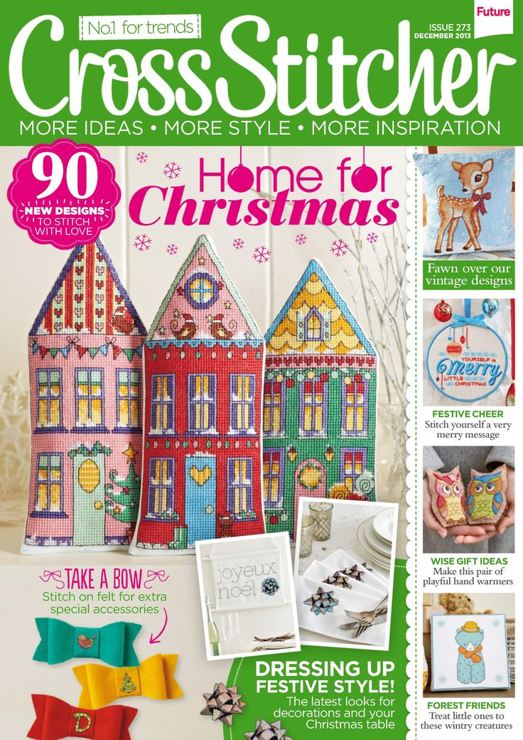 Cross Stitcher Magazine - December 2013 273 - CrossStitcher