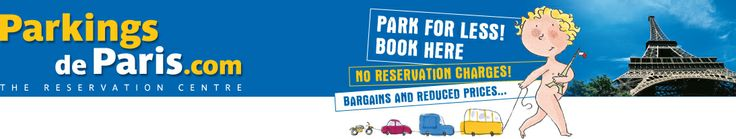Parking Paris - Information and parking space reservation in Paris : motorcycle, car, utility vehicle, truck, camper-van, bus, coach