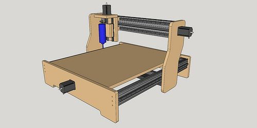 New Machine Build 8020 / MDF based CNC Router
