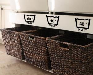 Laundry wallstickers