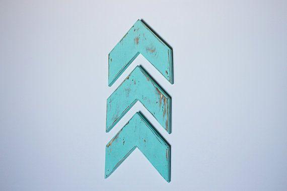Shabby Chic Arrows - Herringbone Arrows - Chevron Arrows - Rustic - Farmhouse - Trendy - Nursery Decor - Gallery Wall - Wall Decor