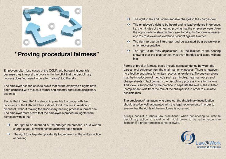 How can an employer prove fairness? https://www.facebook.com/lawatwork?fref=ts