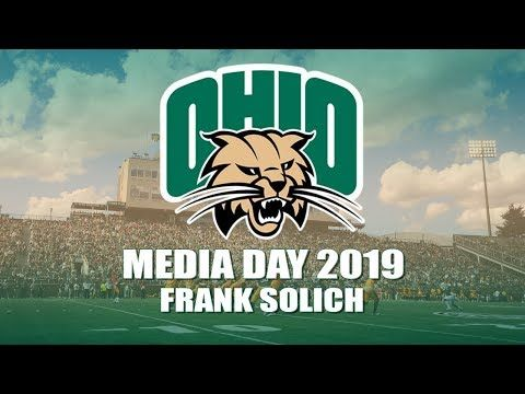 Ohio Football 2019: Frank Solich at MAC Media Day 2019 – YouTube