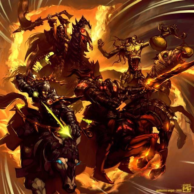Apocalypse Comics | Four Horsemen of the Apocalypse Comics - Comic Vine