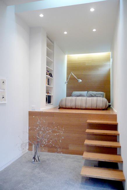 slaapkamer verhoogd via inspirerend wonen