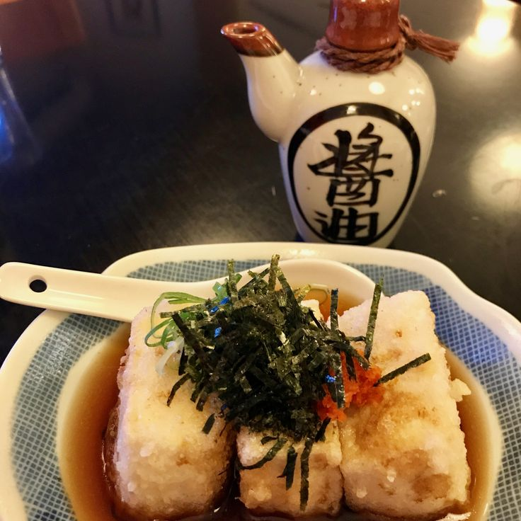 Casual Japanese on the north side - good agadashi tofu! (15.11.17) Franz's