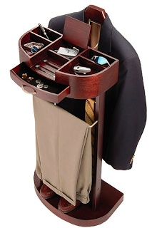 men's valet, I used to have three but I have one like this and that's all you need.