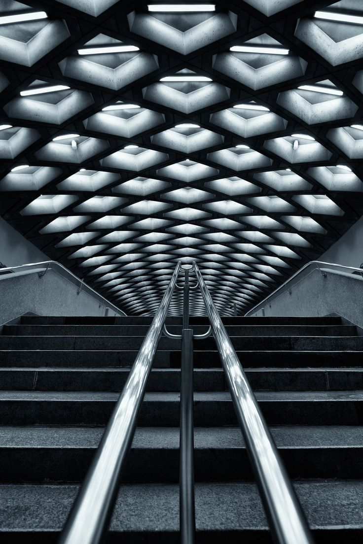 Jarry Metro Station in Montreal by Roland Shainidze on 500px