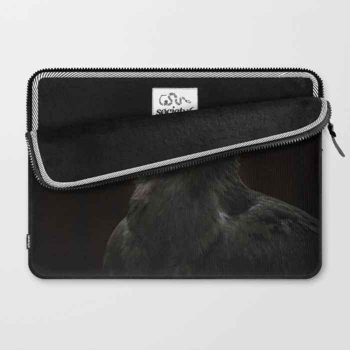 Steppe Eagle Laptop Sleeve by Mixed Imagery | Society6