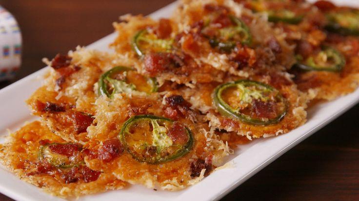 Jalapeño Cheese Crisps  - Delish.com
