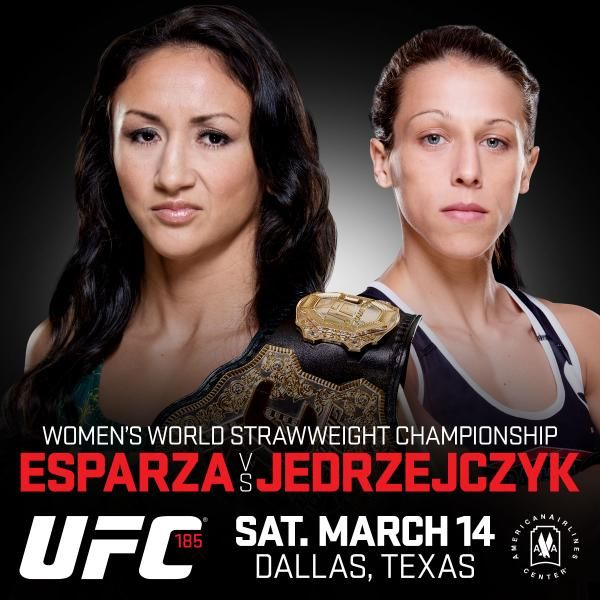 Video: Either Joanna Jedrzejczyk is going for a ride, or Carla Esparza is getting pieced up - See more at: http://www.addisonsportsmedia.com/2015/03/video-either-joanna-jedrzejczyk-is-going-for-a-ride-or-carla-esparza-is-getting-pieced-up/#sthash.YX9mAyJn.dpuf