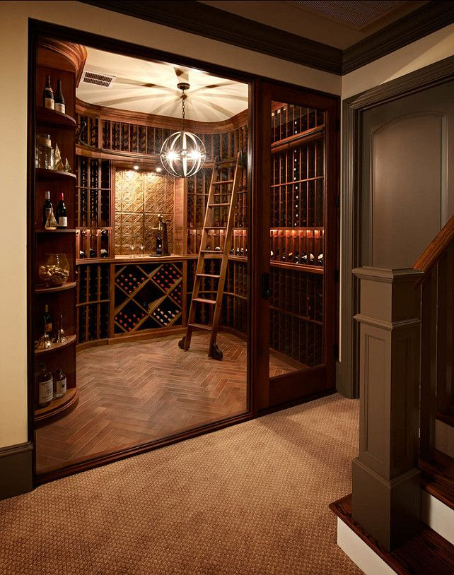 29 best interiors wine cellars images on pinterest wine for Home wine cellar designs