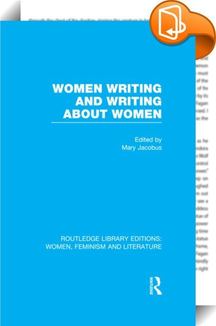 Women Writing and Writing about Women    :  This innovative collection of contemporary essays in feminist literary criticism provides a spectrum of approaches and positions, united by their common focus on writing by and about women.  Spanning the novel, poetry, drama, film and criticism, the contributors emphasise some of the problems of theory and practice posed by writing as a woman and by women's representation in literature. The subjects of individual essays range from the ninetee...