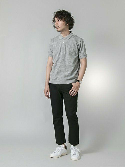 URBAN RESEARCH | マスダユーアールポロシャツ「URBAN RESEARCH UR 迷彩リンクスポロシャツ」Styling looks