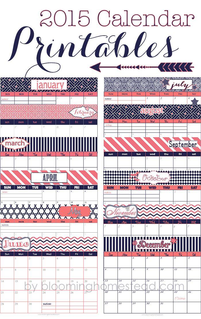 Calendar Notebook Design : Best ideas about calendar on pinterest free