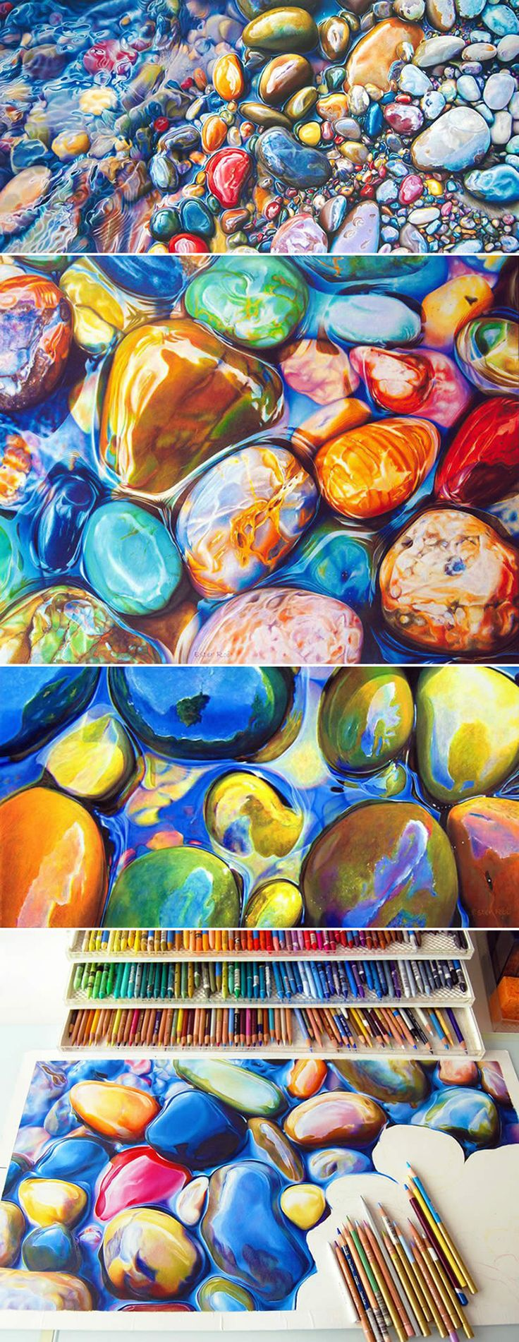 Ester Roi - her use of color amazes me.