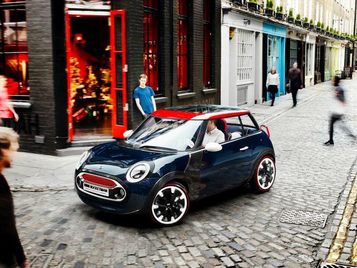 The MINI Rocketman Concept takes the sporting MINI spirit proudly into the next generation.