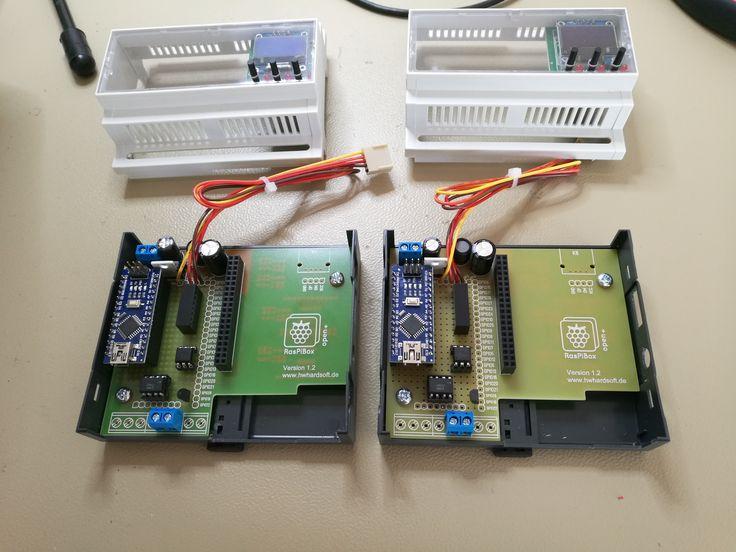 Customized RasPiBox Din Rail Enclosure U0026 Breadboard For 12V PWM Output  Based On Raspberry Pi And