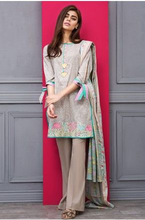 Khaadi B17202-B-GREY Summer Lawn Volume 1 2017 Price in Pakistan famous brand online shopping, luxury embroidered suit now in buy online & shipping wide nation..#khaadi #khaadilawn2017 #khaadisummerlawn2017 #pakistanibridalwear #brideldresses #womendresses #womenfashion #womenclothes #ladiesfashion #indianfashion #ladiesclothes #fashion #style #fashion2017 #style2017 #pakistanifashion #pakistanfashion #pakistan Whatsapp: 00923452355358 Website: www.original.pk