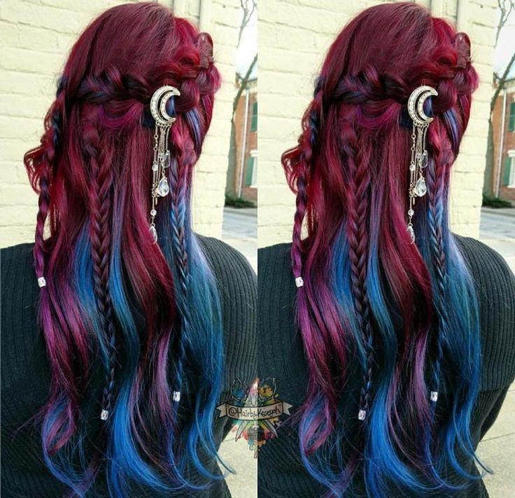 52 Ombre Rainbow Hair Colors To Try 2: Hair Styles, Mermaid Hair