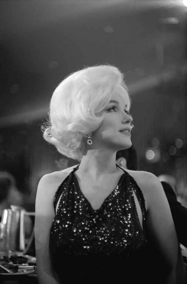 Marilyn Monroe at the Golden Globe Awards (March 1962)
