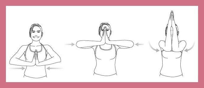 Semplice esercizio per rassodare il seno senza pesi