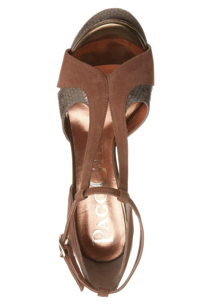 Paco Gil - BRAZIL TWICE - High Heel Sandalette - brown vintage