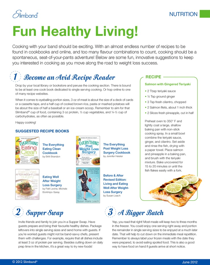 #Slimband Fun #Healthy #Living - Get more helpful #Slimband #Handouts at http://slimband.com/tools-and-resources