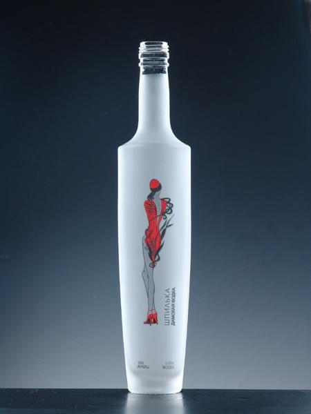 Packaging package label design vodka paper green alcohol for Decor drink bottle