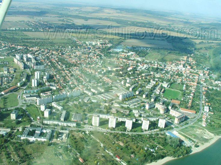 Štúrovo - aerial photo - letecká fotografia