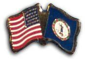 Virginia - State Friendship Pin by Flagline.com. Save 43 Off!. $2.25. Friendship lapel pin. Includes your state flag and the flag of the USA in a single pin.
