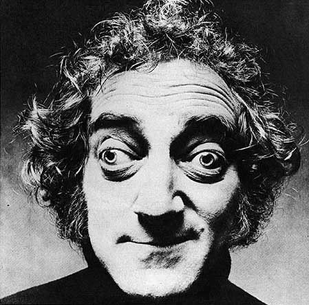 """I won't eat anything that has intelligent life, but I'd gladly eat a network executive or a politician."" ~ Marty Feldman"