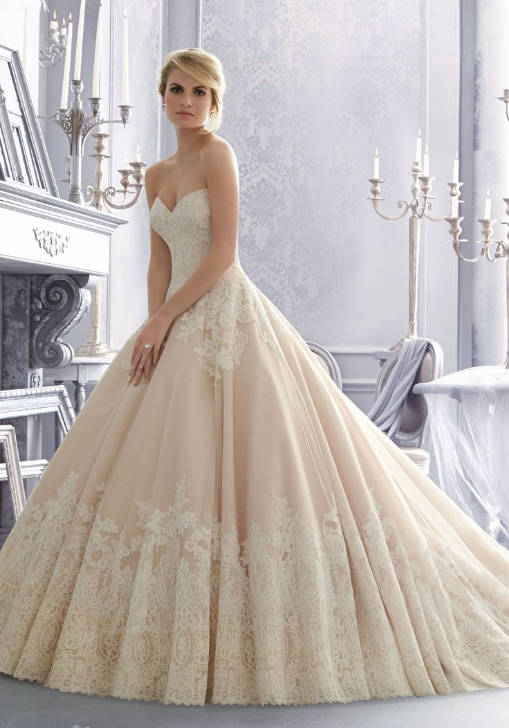 Cecelia By Morilee Available At Sincerely The Bride Vancouver Washington Portland Champagne Wedding With Used Dress