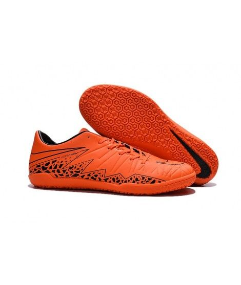 Nike Hypervenom Phelon II IC SÁLOVÁ Muži Kopačky Oranžový Černá