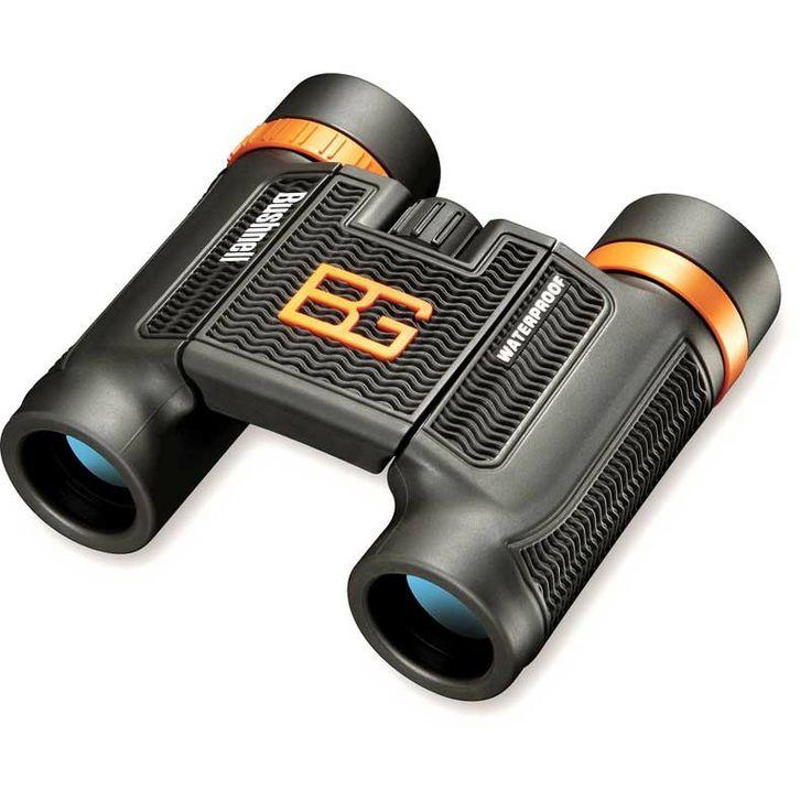 Bushnell - 8x25 Bear Grylls Binocular Roof Prism (Clam) - #binoculars