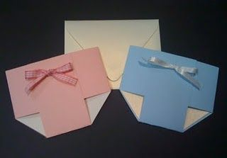 Make these Baby Shower Diaper Invitations
