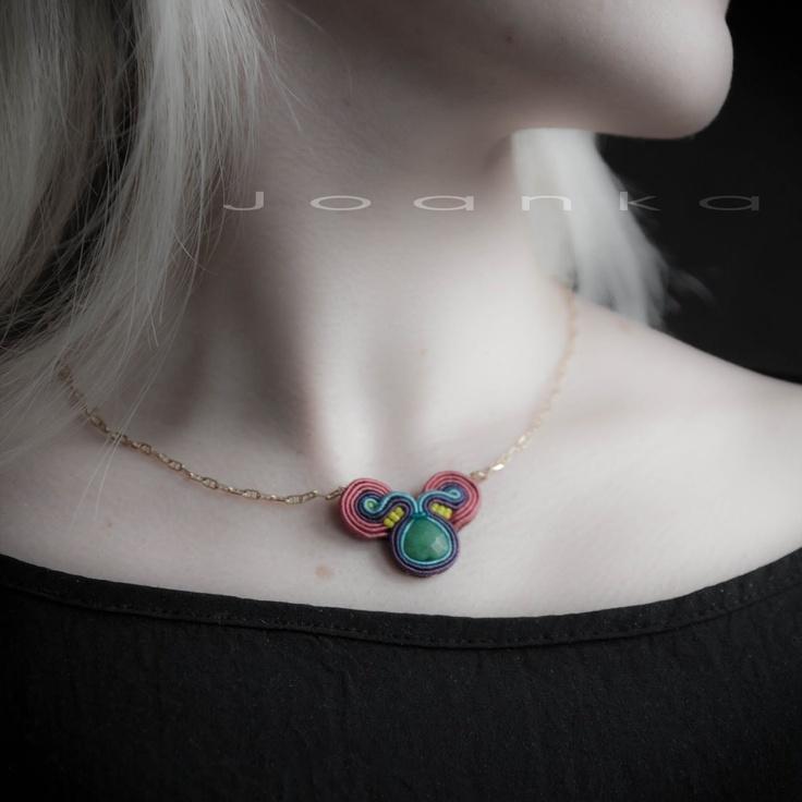 Joanka - Biżuteria ręcznie haftowana